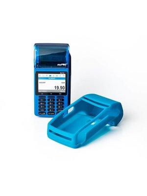 myPOS D210 Combo blauwe siliconenhoes