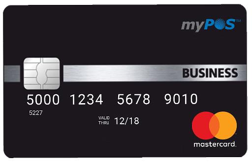 myPOS debitcard mastercard
