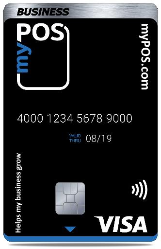 myPOS debitcard VISA