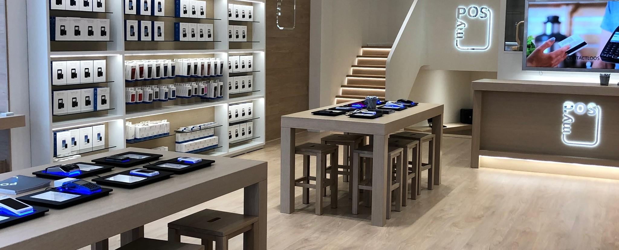 De myPOS Store Anwerpen is gevestigd aan de Drukkerijstraat 16.