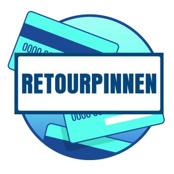Retourpinnen (in het Engels refund) is een omgekeerde pintransactie. Via retourpinnen geeft u als ondernemer elektronisch geld terug aan uw klant.