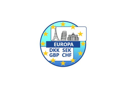 In heel Europa betalingen (ook in vreemde valuta) accepteren