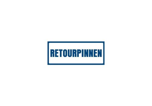 Retourpinnen / refund