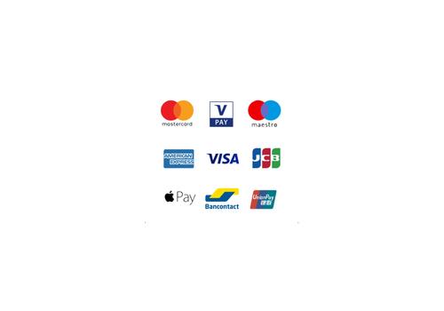Geaccepteerde betaalkaarten