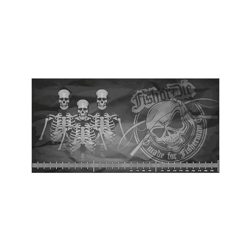 Fish or Die® Abhakmatte 300x150 Skull