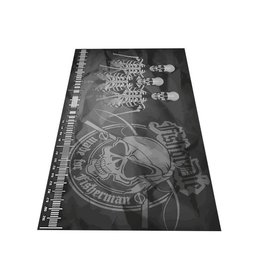 Fish or Die® Unhooking mat 300x150 Skull
