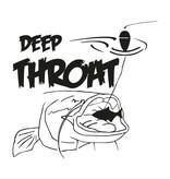 Deep Throat® Aufkleber geschnitten
