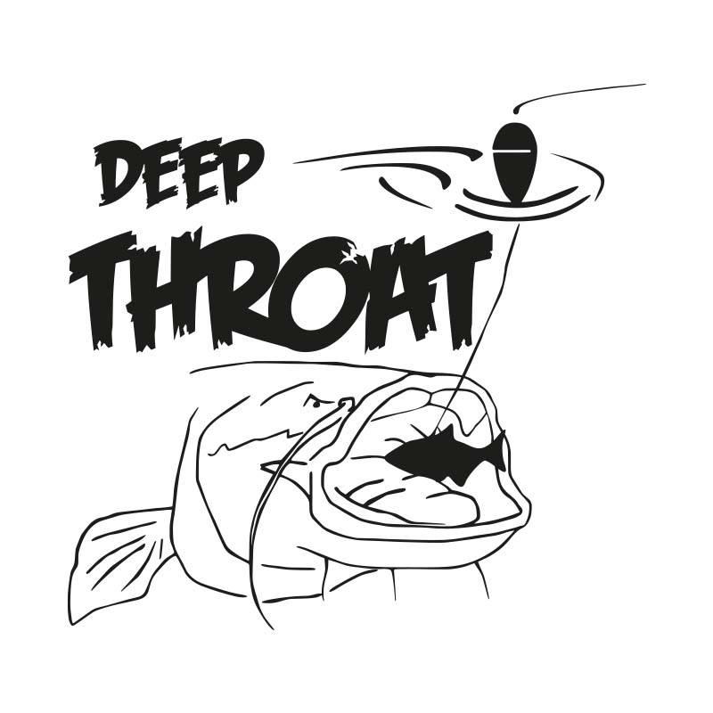 Deep Throat® Waller Aufkleber geschnitten