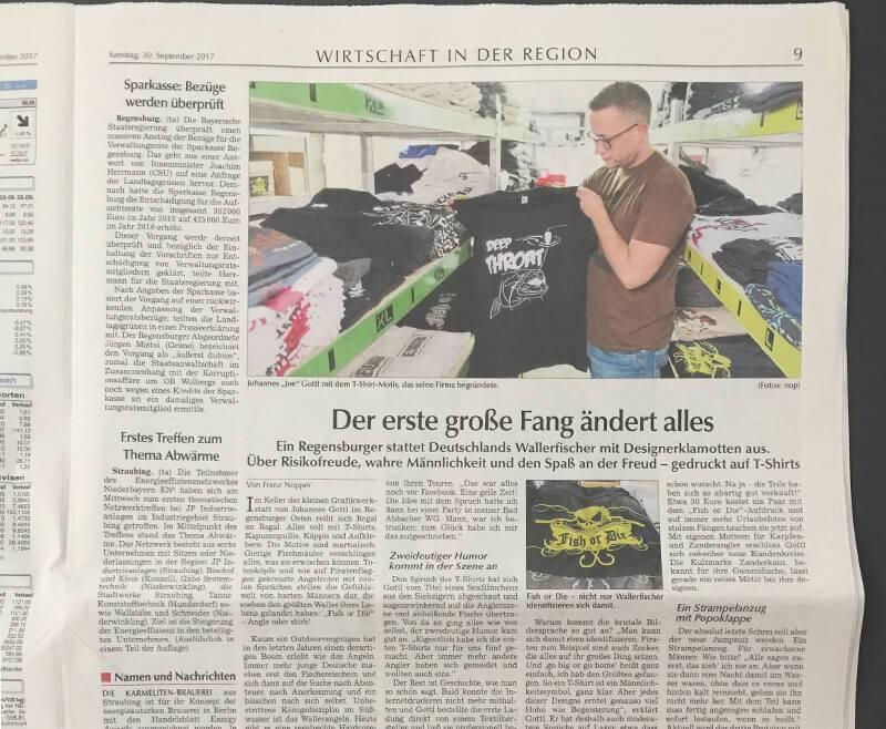 [Zeitungsartikel] Vorstellung unserer Firma