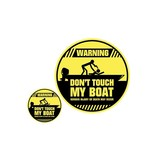 Don't touch my Boat Don't touch my Boat sticker