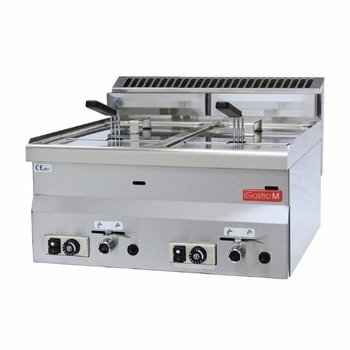 Gas friteuse Gastro M 600 - 2x 8L - aardgas