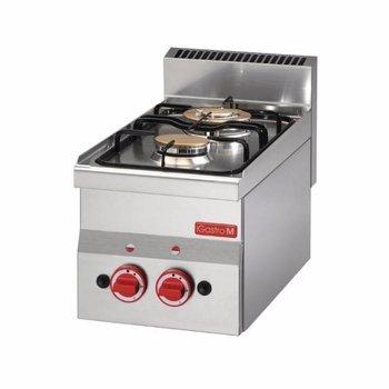Gasfornuis tafelmodel Gastro M 600 - 2 branders - aardgas