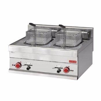Elektrisch friteuse Gastro M 650 - 2x 10L