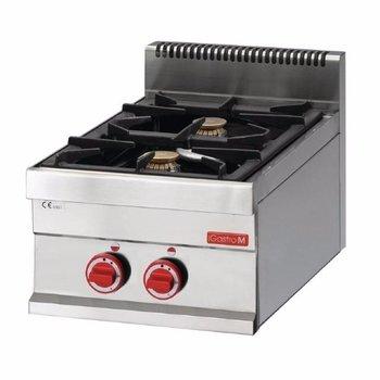 Gasfornuis tafelmodel Gastro M 650 - 2 branders - aardgas