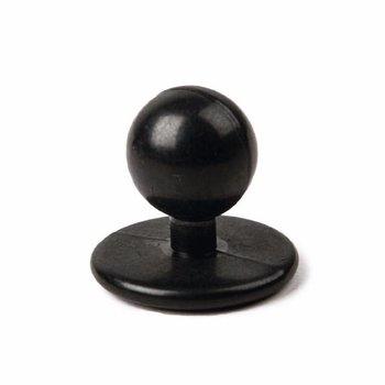 Zwarte bolknoppen - 12 stuks