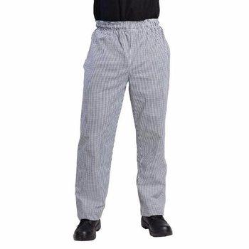 Koksbroek Vegas - zwart wit geruit - XS-XXL