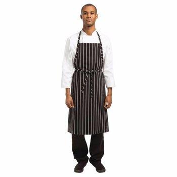 Halterschort Chef - zwart wit