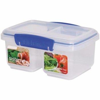 Voedseldoos Klip-It - gesplitst - 1 Liter
