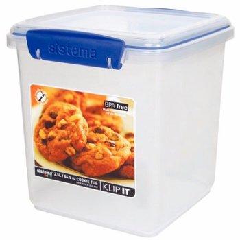 Voedseldoos Klip-It - bak - 2,3 Liter
