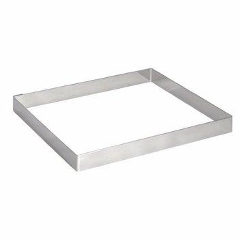Taartvorm vierkant - (H)20x200x200mm