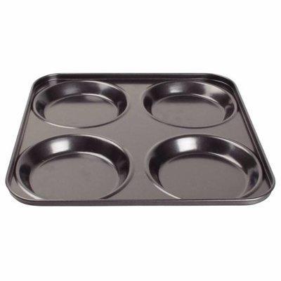 Antikleef yorkshire puddingvorm - 4 vormen