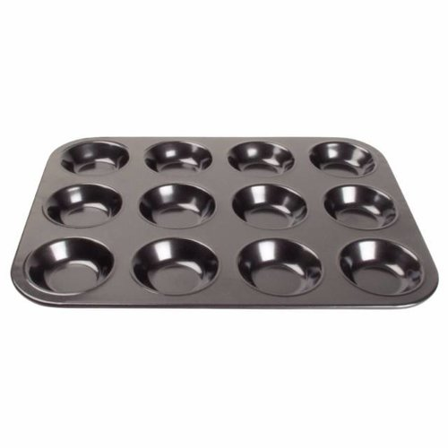 Antikleef mini muffin bakplaat - 12 vormen