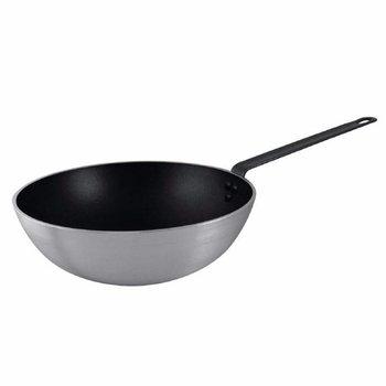 Wokpan - platte bodem - antiaanbak - Ø30cm