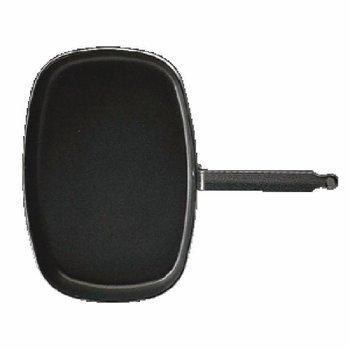 Rechthoekige vispan antiaanbak - 38cm