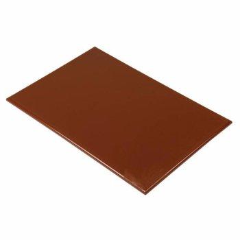 Snijplank anti-bacterie - 46x30x1,2cm - bruin