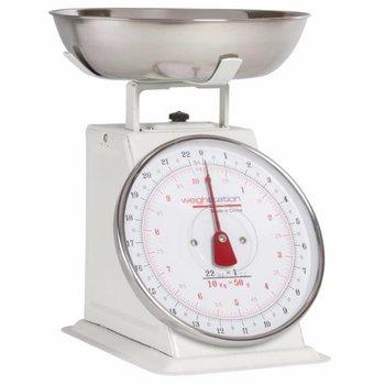 Keuken weegschaal RVS - tot 10kg - per 50 gram