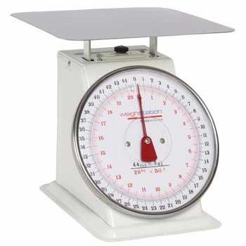 Platform weegschaal RVS - tot 20kg - per 50 gram