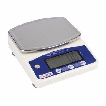 Elektronische weegschaal - tot 3kg - per 0,5 gram