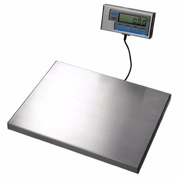 Weegschaal RVS 38x30cm - los dispaly - 60kg - per 20 gram