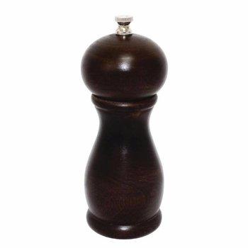 Peper of zoutmolen - donker hout Olympia - 15cm