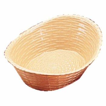 Ovalen polypropeen tafelmandje - 21,5x16cm