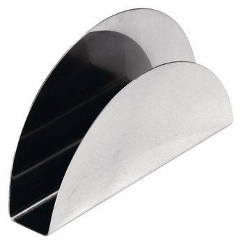 Servettenhouder kantine - RVS