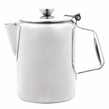 Koffiekan hoogglans RVS - 0,9L