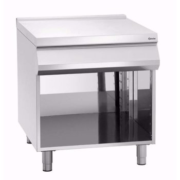 Werkelement met schuiflade Bartscher 900 master - 90x90cm