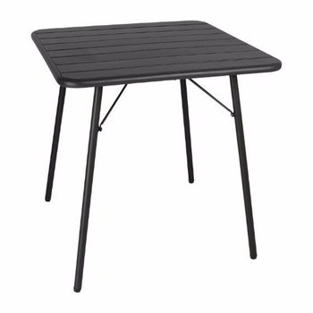 Tafel Mike - opklapbaar - staal zwart