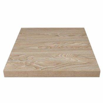 Tafelblad Rutger - vierkant 70cm - antiek naturel