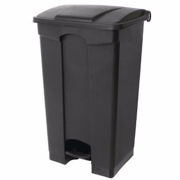 Pedaal afvalbak - luchtdicht - 45L - zwart
