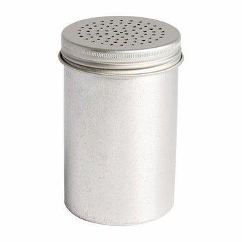 Zoutstrooier aluminium - 14cm
