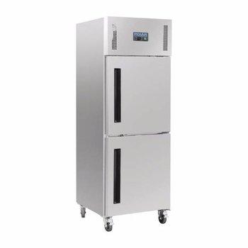 Gastro koelkast enkel | gedeelde deur | 600L | (H)201x(B)68x(D)80