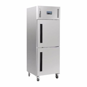 Gastro vrieskast enkel   | gedeelde deur | 2/1GN | 600L | (H)201x(B)68x(D)80