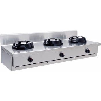 Wokbrander tafelmodel 3 pits - CC/03.BB