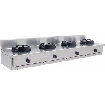 Wokbrander tafelmodel 4 pits - CC/04.BB