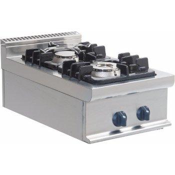 Gasfornuis tafelmodel 2 pits - E7/KUPG2BB