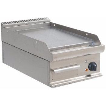 Tafelmodel bakplaat elektrisch | glad | E7/KTE1BBL | 5,4kW | (H)27x(B)40x(D)70