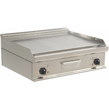 Tafelmodel bakplaat elektrisch | glad | E7/KTE2BBL | 10,8kW | (H)27x(B)80x(D)70
