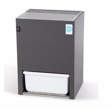 IJscrusher RVS antracietkleur - 5kg/min